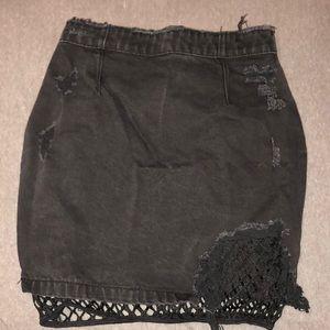 ae74358026 Missguided Skirts   Nicole X Black Faux Leather Skirt   Poshmark